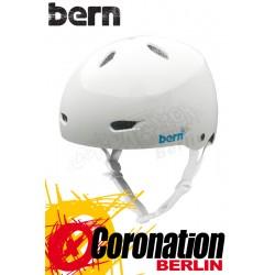 Bern Frauen Kite-Helm Brighton H2O - White Glossy