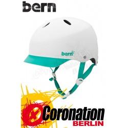 Bern Frauen Kite-Helm Lenox H2O - White Turquoise Grafic