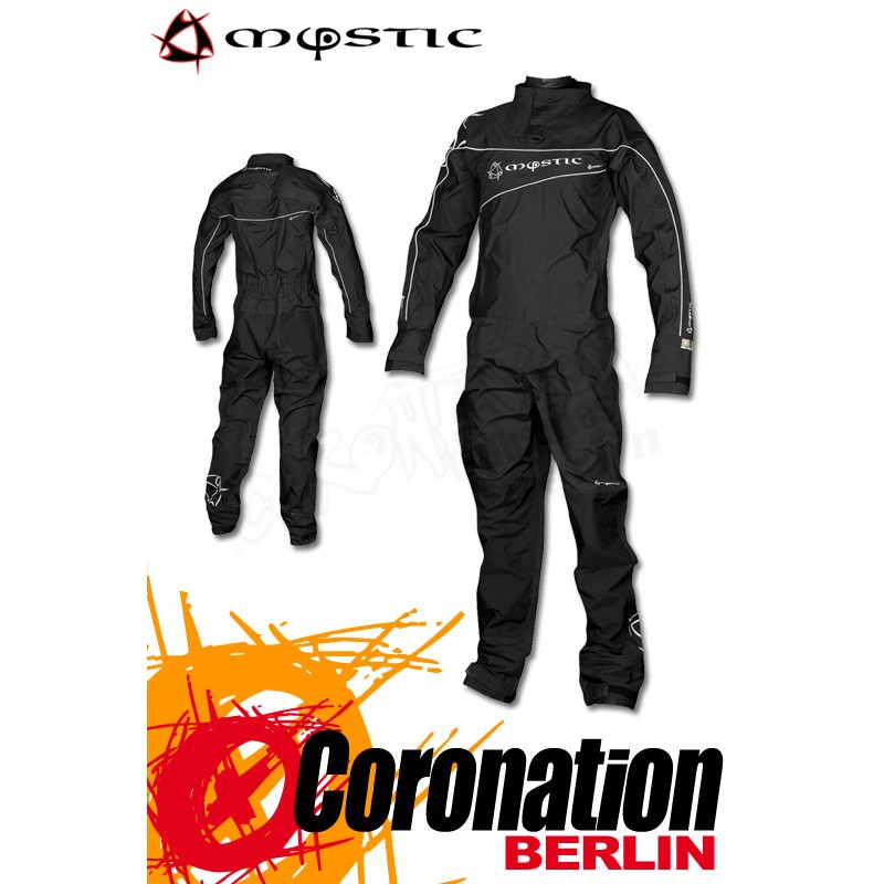 Mystic Force Drysuit Trockenanzug - Schwarz