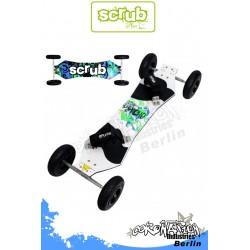 Scrub Psycho Landboard - 9 Zoll Räder
