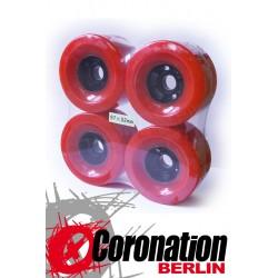Longboard wheels 97mm 78a - Orange
