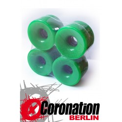 Longboard wheels 76mm 78a - green
