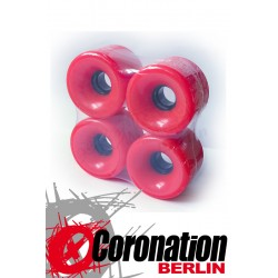 Longboard wheels 70mm 78a - Orange
