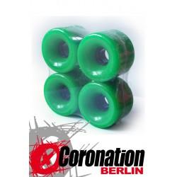 Longboard roulettes 70mm 78a - vert