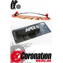 Apex Tragegurt Longboard Carry On Strap - Silber