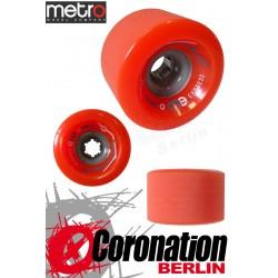 Metro Wheel Express roulettes 77mm 78a - Orange