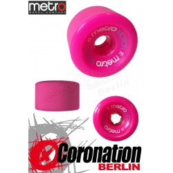 Metro Wheel Motion roulettes 70mm 78a - rose