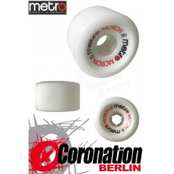 Metro Wheel Motion roulettes 70mm 80a - blanc