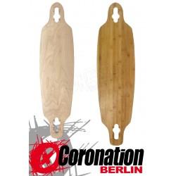 Longboard Deck Bamboo Drop Through 91cm