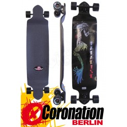 Paradise Longboard Mermaid Drop-Down completeboard