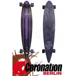 Paradise Longboard Pintail Skull & Palms Cruiser complèteboard