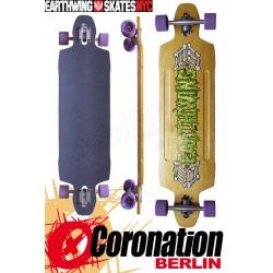 """Earthwing Longboard Supermodel 40"""" complete Freeride Downhill"""