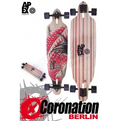 Apex Longboard Snapper Cut-Out Cruiser Komplett