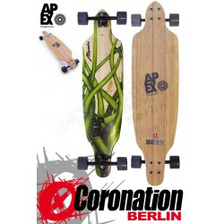 Apex Longboard Mamba Bamboo Cut-Out Cruiser Komplett