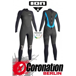 ION Pearl Semidry 5/4 Skin woman neopren suit Black/Blue
