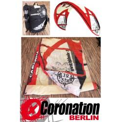 occasion Kite Cabrinha Switchblade 2008 12qm complète avec barre