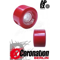 APEX Red barrereon 77mm 83a roulettes Set