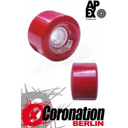 APEX Red barreon 77mm 83a roulettes Set