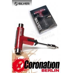 Silver Skatetool Werkzeug - Red Black Checks