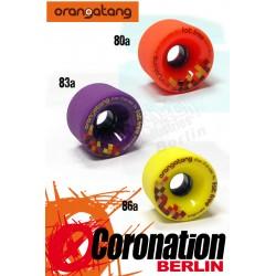 Orangatang roulettes Fat Free 65mm Set roues