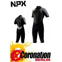 NPX Cult 3/4 LegShorty 3/2 Neoprenanzug Black