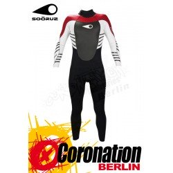 Soöruz Back Fly 3/2 combinaison neoprène Red Wetsuit