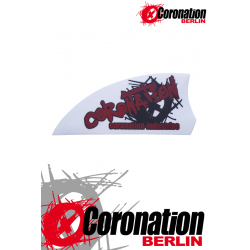 Kiteboard-ailerons Coronation AGGRESSIV 50 - blanc