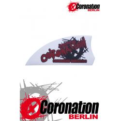 Kiteboard-fins Coronation AGGRESSIV 50 - white