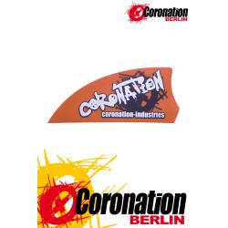 Kiteboard-Finnen Coronation-Industries Aggressiv 50 - Orange