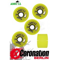 ABEC11 wheels ZigZag Reflex wheels 66mm 83a