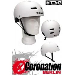 TSG Helm Skate BMX - blanc