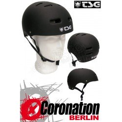 TSG Helm Skate BMX - noir