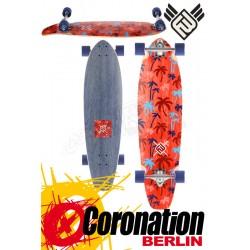 Flying wheels Palm 35 Red complete Longboard