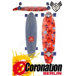 Flying roues Palm 35 Red complète Longboard