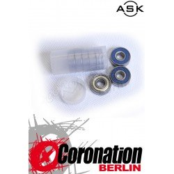 ASK Kugellager Speed Bearings ABEC5 Neoprene