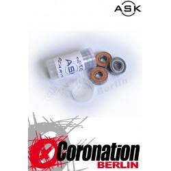 ASK Kugellager Speed Bearings ABEC3 Neoprene