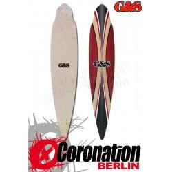 G&S Blacktip Pintail Longboard Deck 112cm