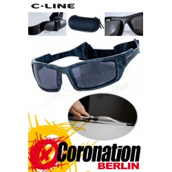 C-Line Davy Polarized Kite Sonnenbrille - Black Pattern