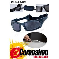 C-Line Davy Polarized Kite Sonnenbrille - Black Pattern