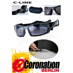 C-Line Davy Kite Sonnenbrille - Black Glossy
