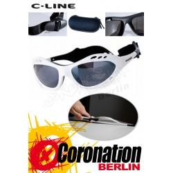 C-Line Classic Kite Sonnenbrille - White