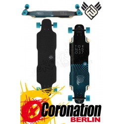 Flying Wheels Tornado 37 Aqua komplett Longboard