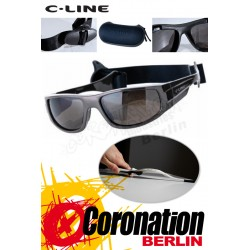 C-Line Aika Woman Kite Sonnenbrille - Grey Glossy
