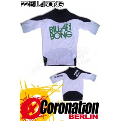 Billabong Rashguard Revolution SS - White