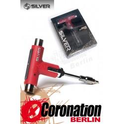 Silver Skatetool Werkzeug - Rot