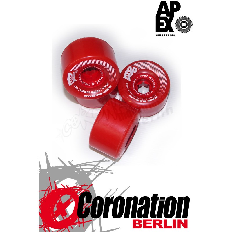 APEX Red Baron 70mm 80a Rollen Set