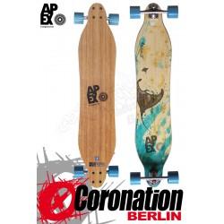 Apex Longboard Komplett Stingray Bamboo Flex2