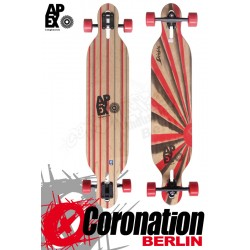 Apex Diablo Maple Longboard Komplett Flex2