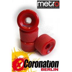 Metro Wheel Motion Rollen 70mm 80a - Rot