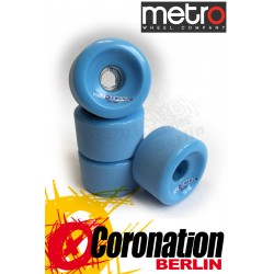 Metro Wheel Motion roulettes 70mm 80a - bleu